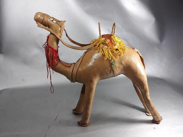 Cămilă Egipt din piele naturală original machetă de colecție