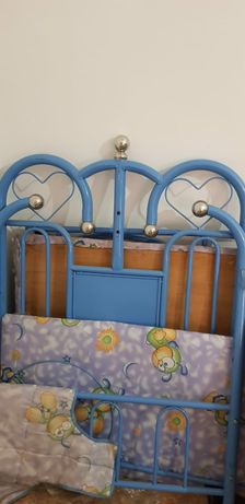 детский кровать железный