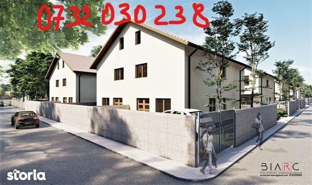 Duplex 130 mp utili,4 cam,3 bai,placa,canalizare,asfalt,proprietar