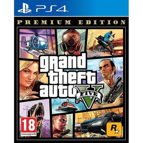 Joc PS4 GTA 5 - GTA V Playstation 4 - Premium Edition sigilat nou