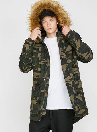 Куртка парка военная новая в упаковке,оригинал,Турция,48-50 р