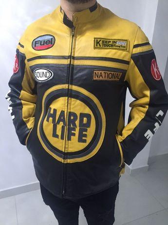 Geaca Piele Racing Moto Noua Marimea M-L 500 de euro