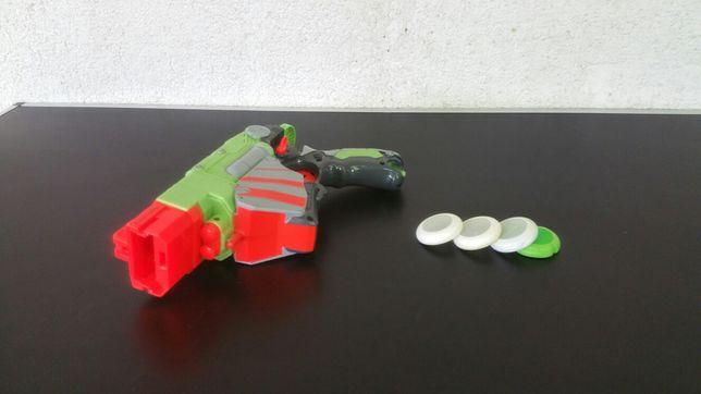 Pistol - jucarie - discuri - Nerf - Vortex - proton