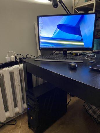 Продам мощный компьютер+монитор+клавиатура