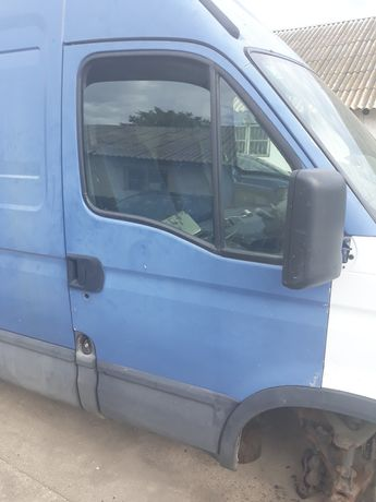 Geam ușa stanga/dreapta față original Iveco Daily Mk III/3 2005.