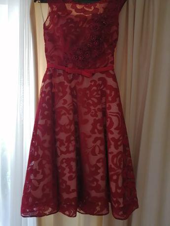 Платье вечернее с пышной юбкой