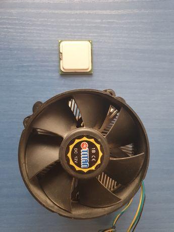 Procesor Intel Pentium D 2.66 Ghz + Cooler cu Radiator Cupru