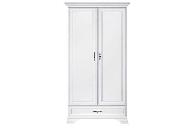 Шкаф для одежды 2Д , коллекции Кентаки, Белый, БРВ Брест
