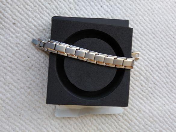 Нови магнитни гривни с 4 вградени елемента, неръждаема стомана