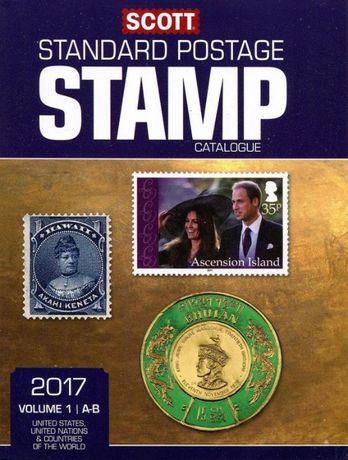 СКОТ 2017 Каталог стандатни пощенски марки от цял свят на 2 DVD