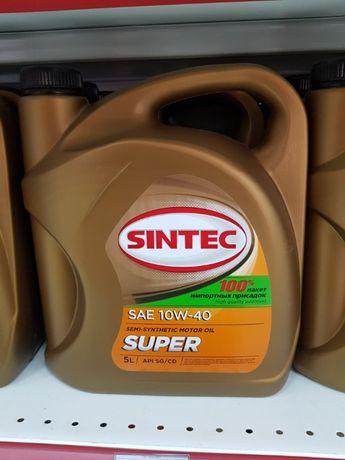 Моторное масло Sintec 10 w 40