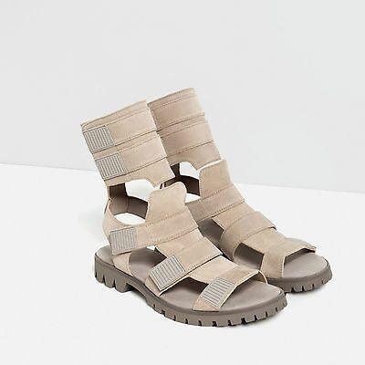 Sandale piele Zara