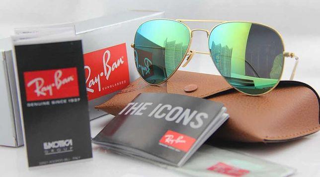 Ray Ban Aviator Cолнцезащитные очки Полный комплект