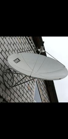 Спутниковая тарелка SVEK, без головки, не большой. Б/у. Доставка