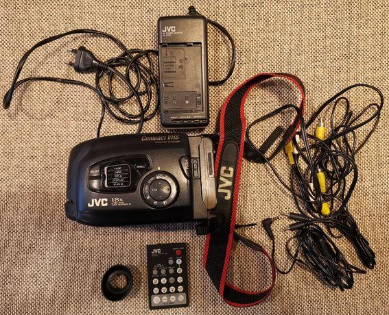 Видеокамера JVC VHS-C Видео Камера Оригинална Compact VHS