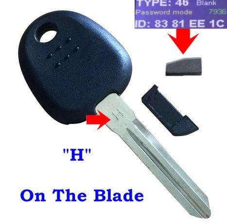 Заготовка за ключ с ЧИП
