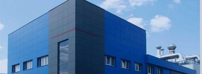 Обновление фасадов зданий. Покраска домов, заборов, крыши