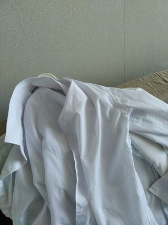 Школьные рубашки белые 1-3 класс