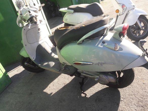 Скутер Априлия Хабана(Aprilia Habana 125)-на части