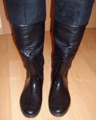 Ботуши дамски кожени обувки Промоция
