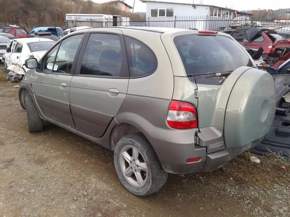 НА ЧАСТИ! Renault Scenic 2.0i, RX4, 4x4, Кожа, Климатик Рено Сценик