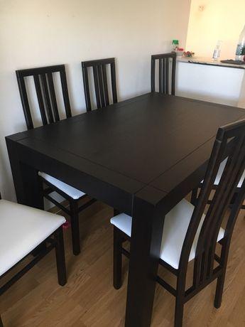 Masa  si 6 scaune