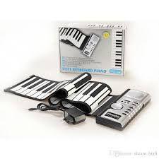 Orga Flexibila cu 61 de clape Portabila Soft Keyboard
