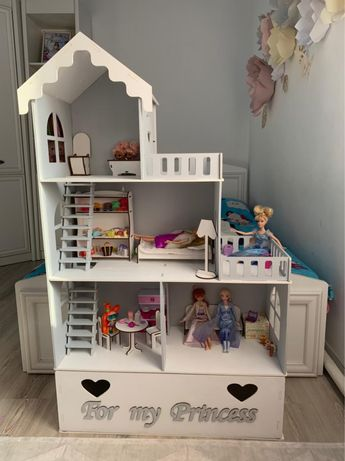Домик для кукол, кукольный домик, домик для барби, домик для лол