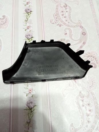 Продам на Субару аутбаг заглушка бампера никель от фар .