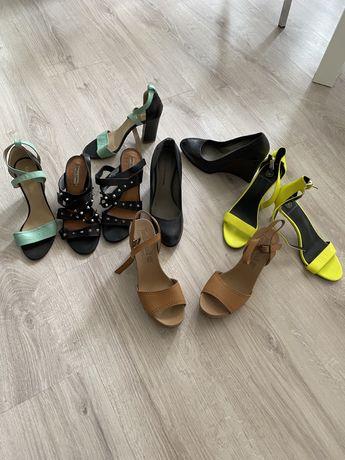 Туфли  босоножки летние