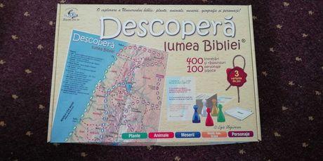 """Joc """"Descoperă lumea Bibliei"""""""