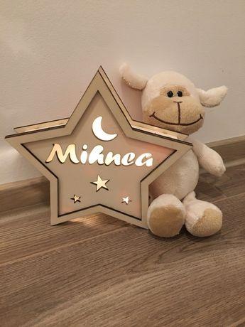 Lampa de veghe personalizata-STAR