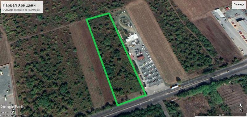 Продава Земеделска земя до АТЗ-то с. Хрищени - image 1