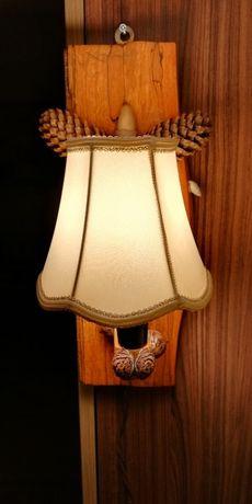 Ръчно изработена лампа / аплик