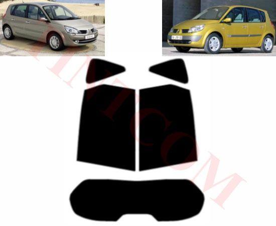 Renault Scenic (5 врати, 2003 - 2009) - Фолио за затъмняване на стъкла