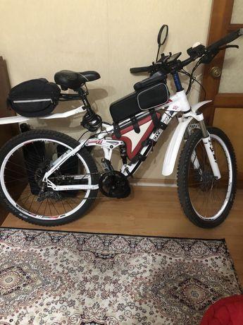 Велогибрид велосипед электрическии