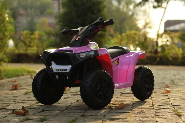 ATV electric pentru copii BJ-116 motor 25W baterie 6V 4.5Ah #Pink