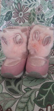 Зимние сапоги доя девочки