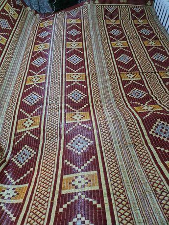 Циновка, коврик, ковер Пакистан, дорожка красная 180х365 см