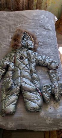 Зимний комбинезон детский