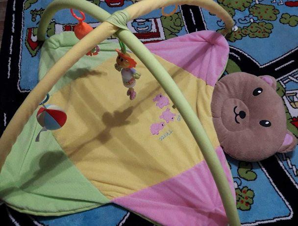 Продается детский развивающий коврик в подарок горка для купания