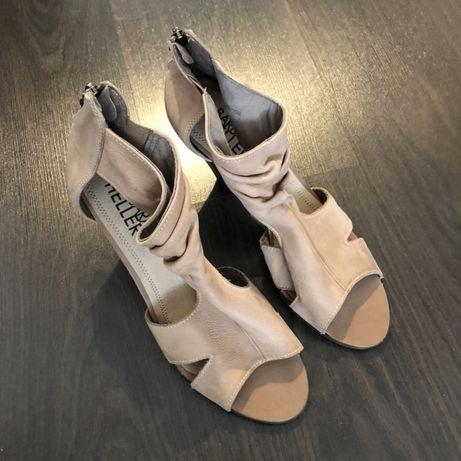 Дамски сандали, ест.кожа #40