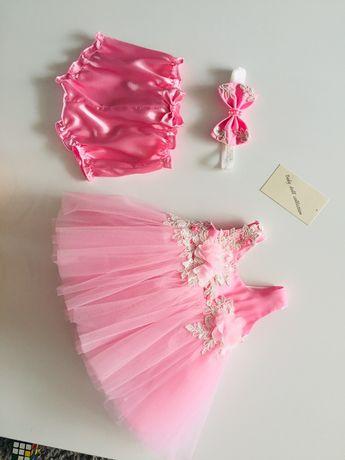 Комплект за изписване с рокличка handmade
