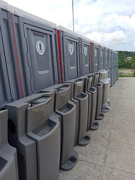 Toalete WC ecologice mobile vidanjabile/racordabile Tecuci + BONUS