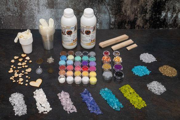Сет от епоксидна смола и оцветители