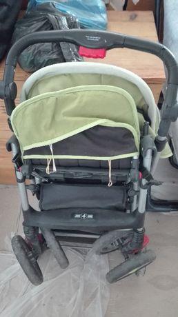 Комбинирана детска количка-зимна и лятна