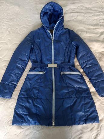 Куртка - пальто на девочку 9-12 лет