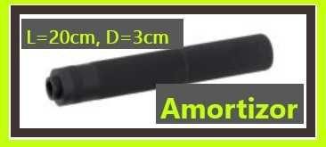 Amortizor pentru pusti / pistoale 20 cm airsoft
