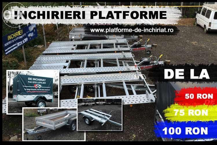 Inchiriem remorci si platforme auto (750kg-3500kg) Bucuresti - imagine 1