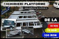 Inchiriem remorci si platforme auto (750kg-3500kg)